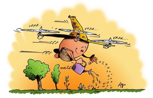 drone planteur d'arbres blog
