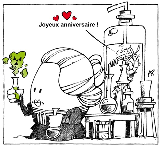 marie curie anniversaire blog