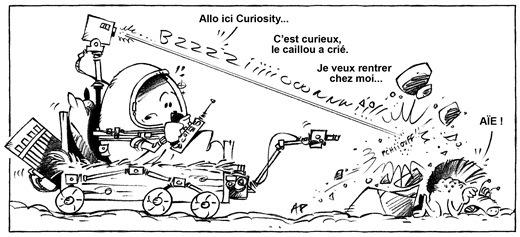 robot Mars blog