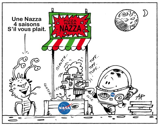 pizza NASA blog