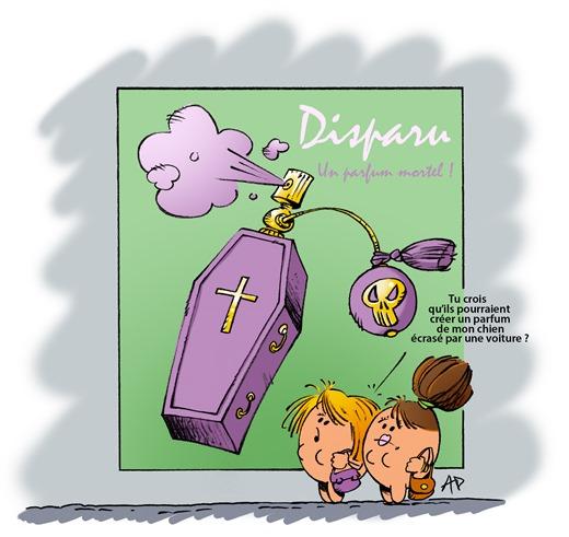 parfum des morts blog