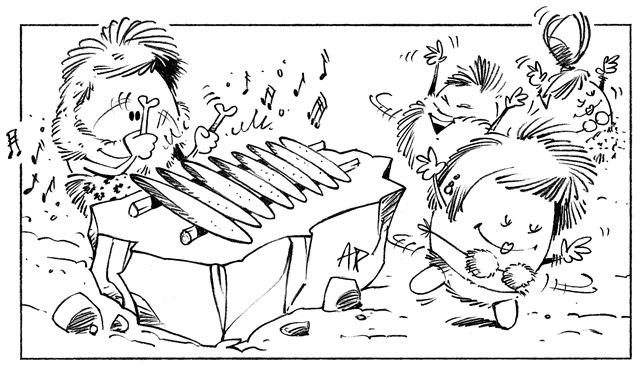 """Résultat de recherche d'images pour """"dessin musique homme préhistorique"""""""